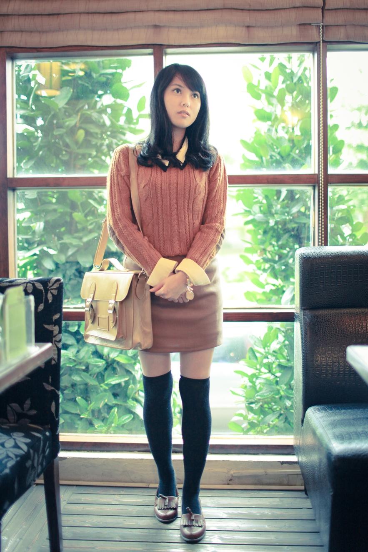 preppy street style fashion blogger