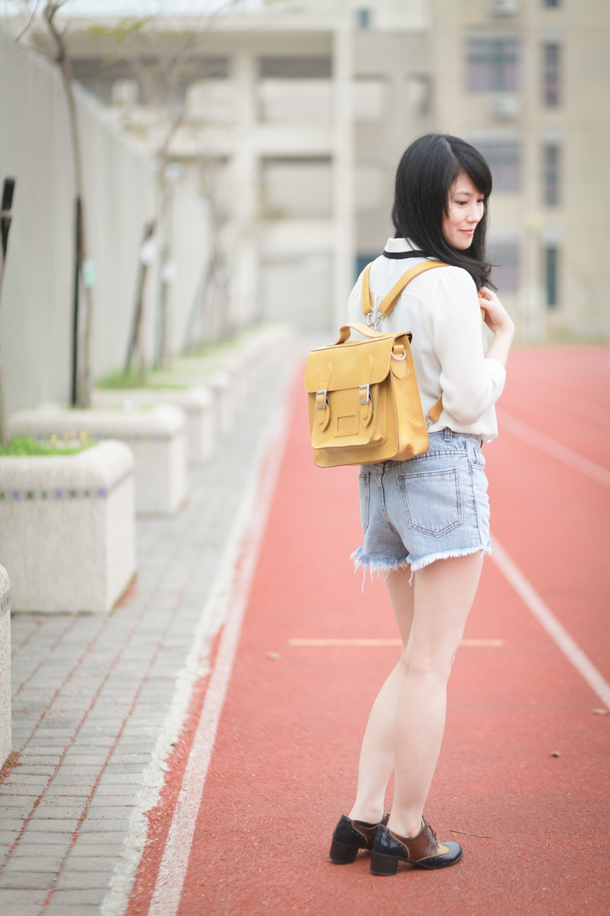 backpack satchel street style