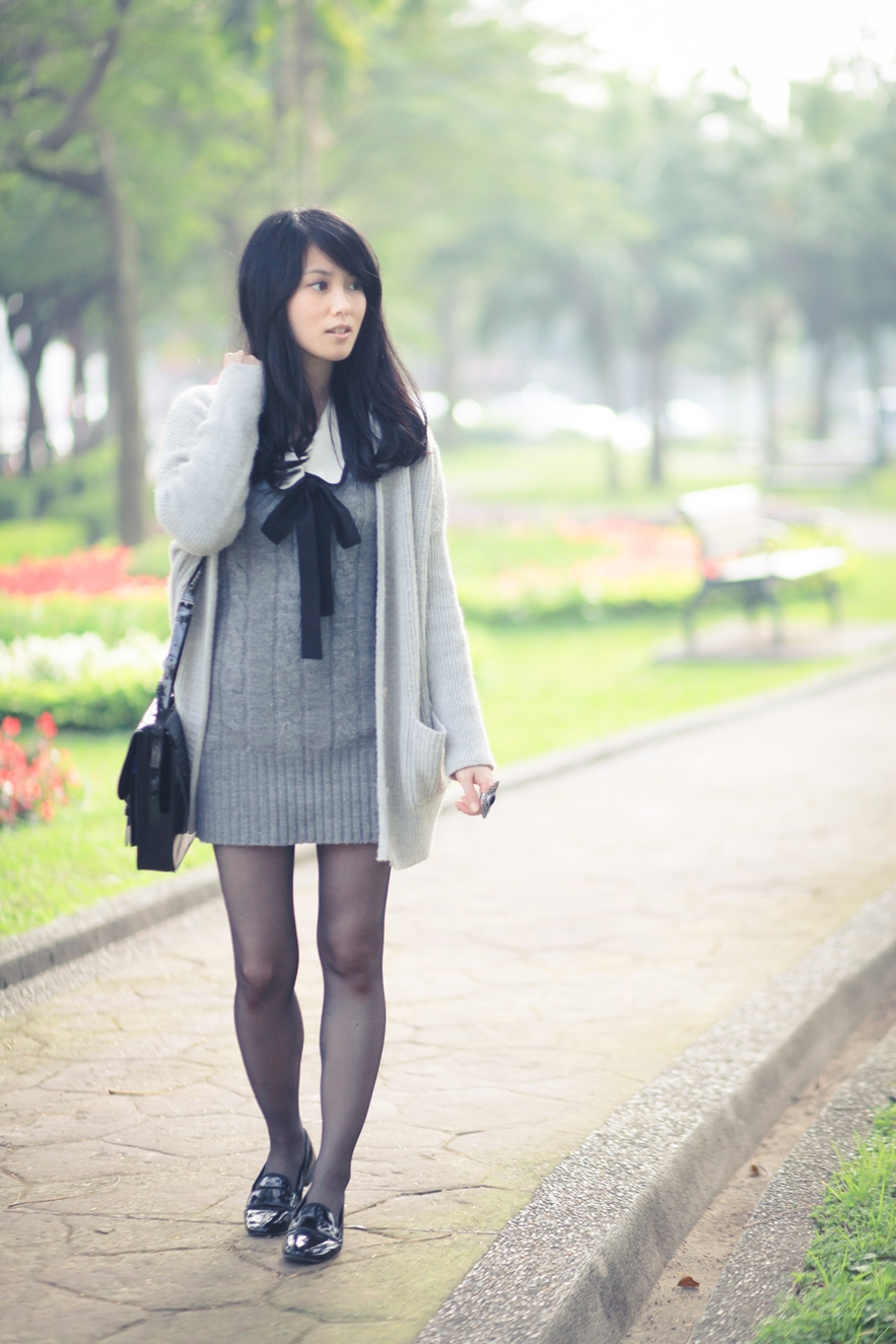 knit dress fashion