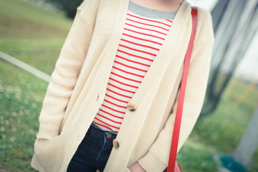 striped top fashion