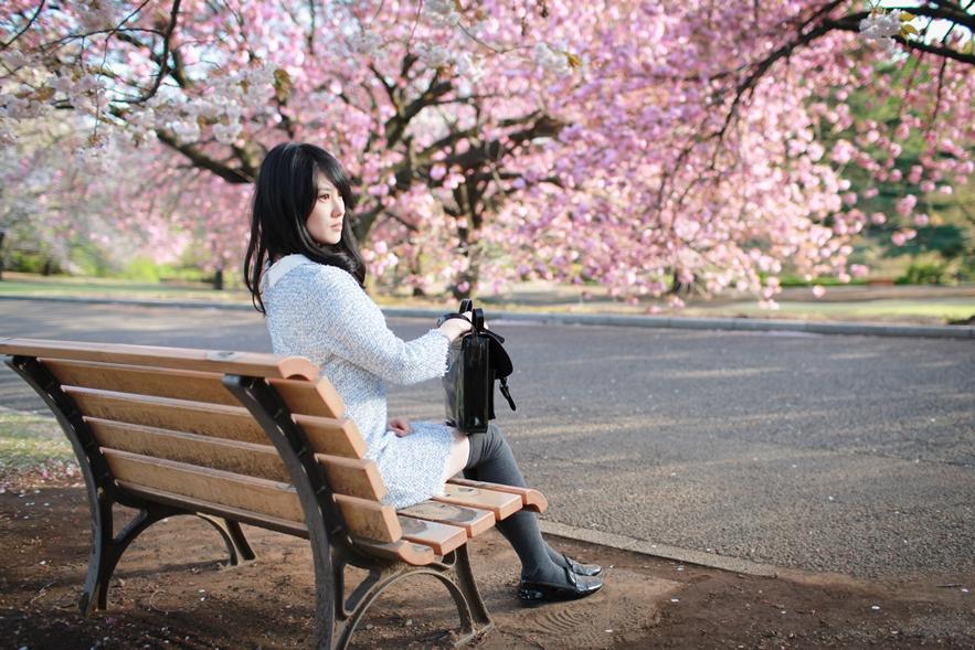 櫻花季穿搭
