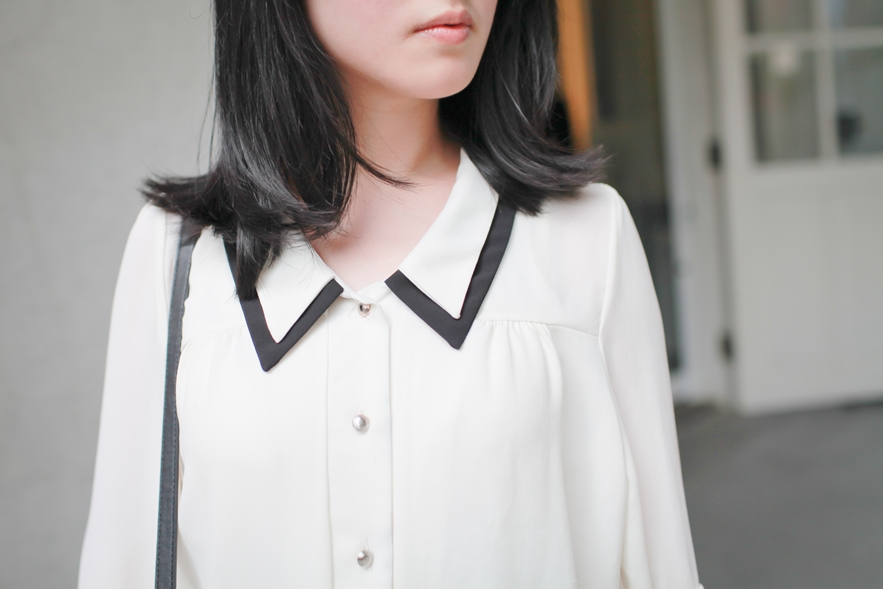 double collar style
