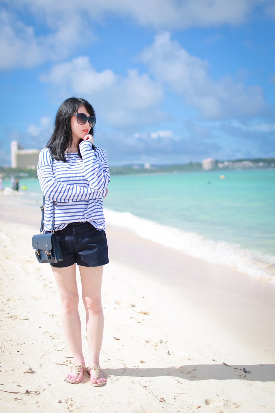 tumon beach bay