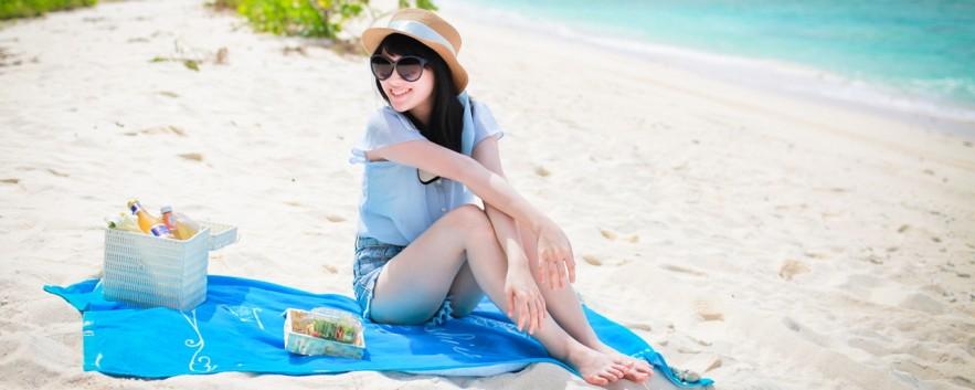 海邊野餐 關島穿搭誌  BEACH PICNIC IN GUAM