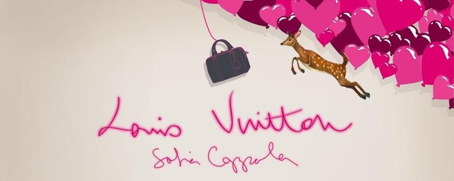 │時尚光點│ SOFIA COPPOLA x LOUIS VUITTON