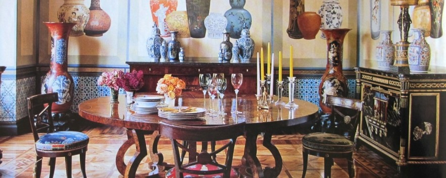 凡賽斯 設計師米蘭宮廷式的華麗居家生活 Donatella Versace