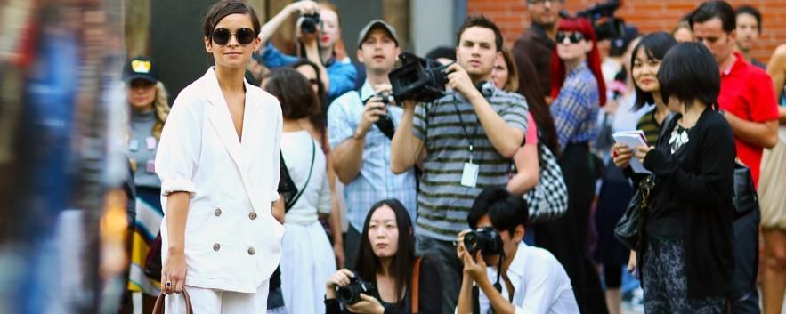 時尚街拍 時尚部落客和街拍型人的同色系穿搭
