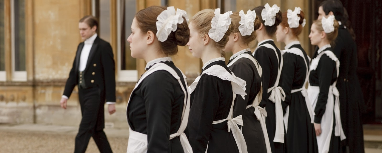 唐頓莊園 影集服裝設計 Downton Abbey