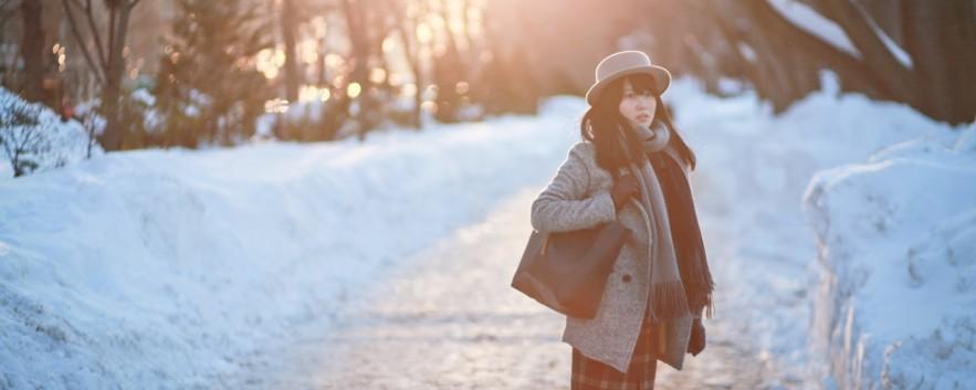 下雪穿搭 |穿衣,冬日波士頓大雪紛飛