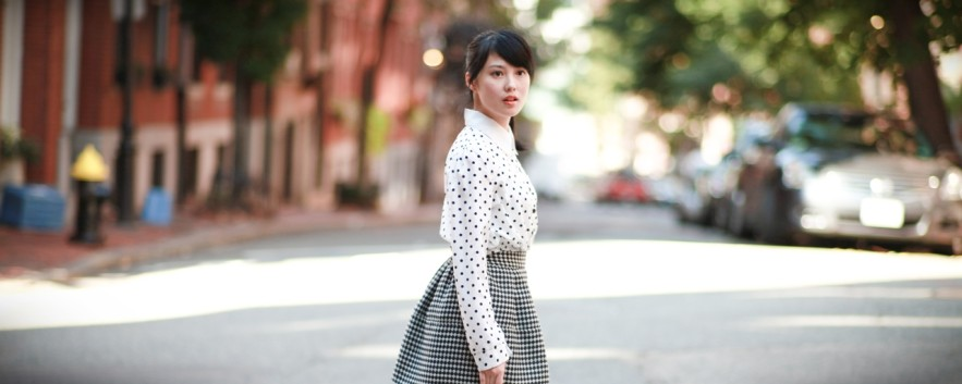 Outfit | Out on Acorn Street in Beacon Hill 穿衣,波士頓散策