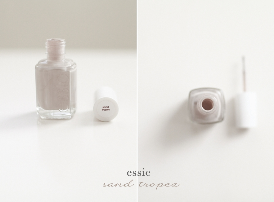 Essie Nude Nail Polishes Review sand tropez