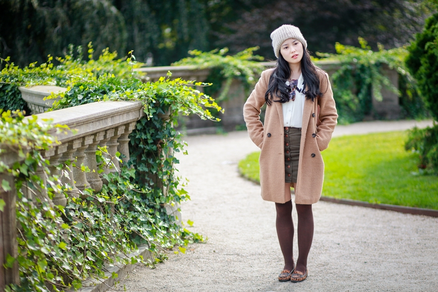 school girl street style