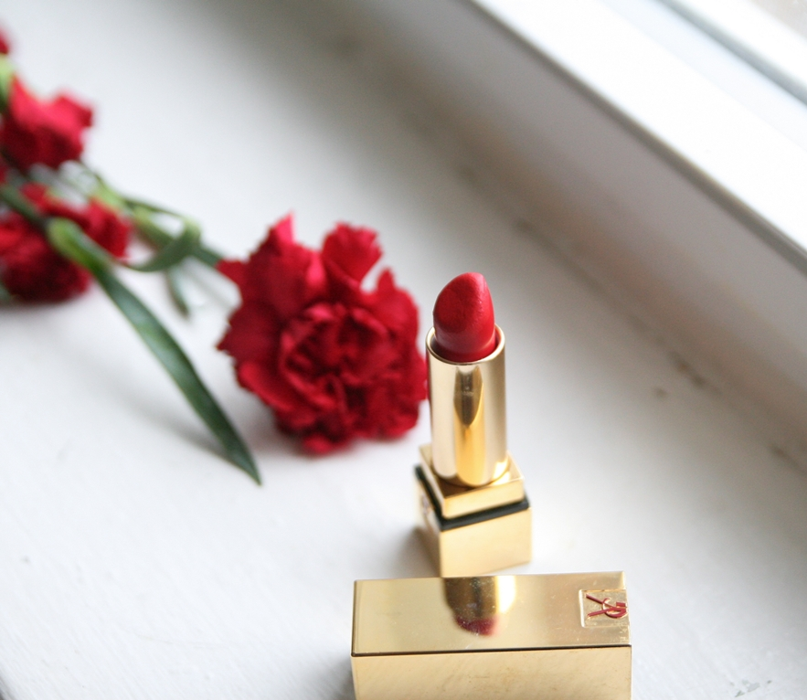ysl rouge rock lipstick review