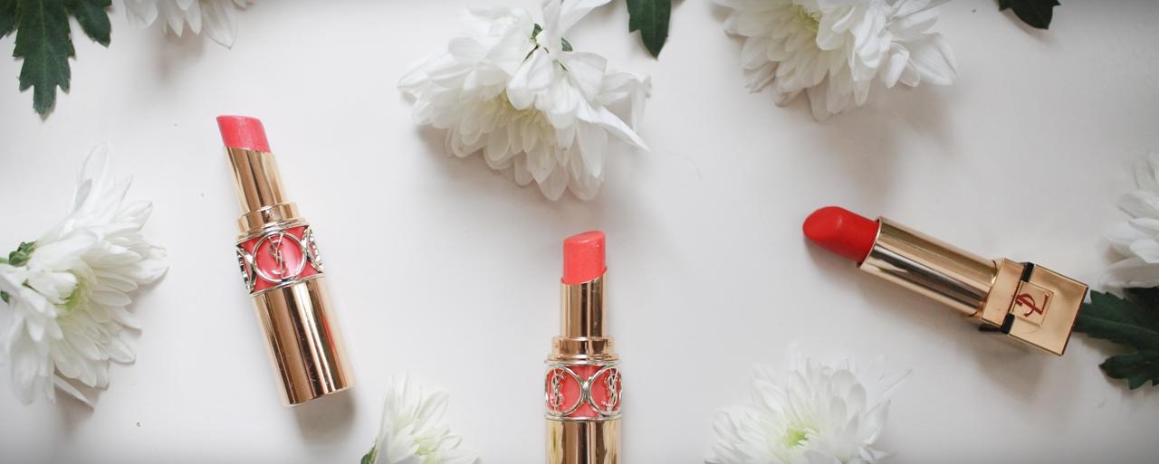 YSL情挑水誘光 唇膏美學 YSL Rouge Volupte Lipsticks Review