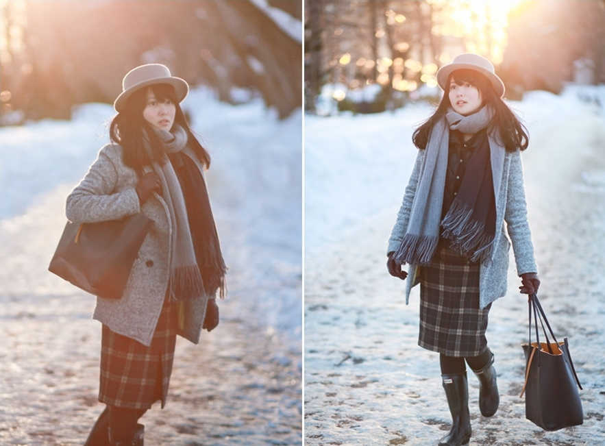 winter layers fashion