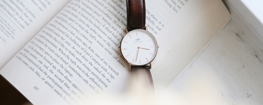 讀出時間的質感 Daniel Wellington 手錶