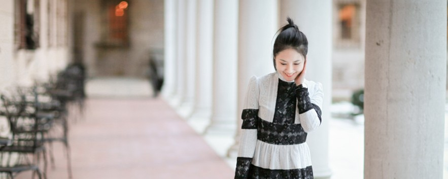 Spring Calls For Lace Dress 因為春天,所以蕾絲