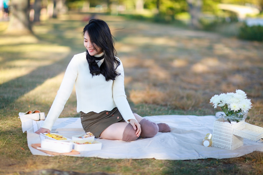 fall picnic outfit
