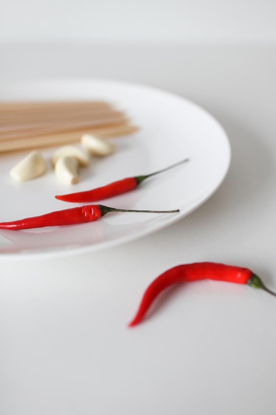 香蒜辣椒義大利麵