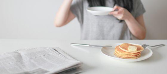 週末在家慢食brunch理由之一 日式鬆餅