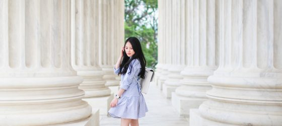 Travel Outfit | Striped Shirt Dress 夏日輕旅行洋裝