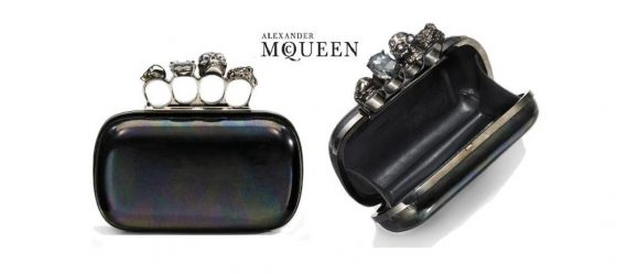 │時尚光點│ Alexander McQueen Knuckle Clutch