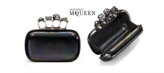 │時尚光點│ Alexander McQueen Knuckle Clutch