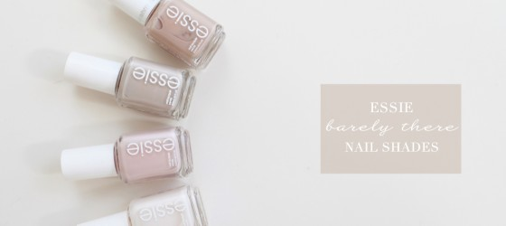 Essie指甲油 裸色氣質 Essie Nude Nail Polishes Review
