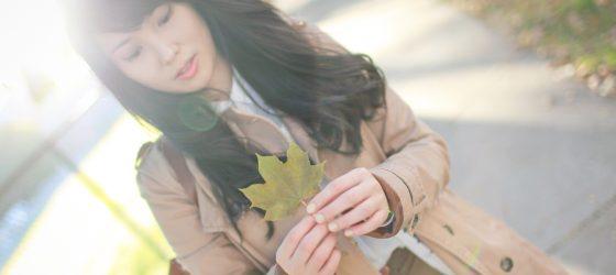 楓葉是秋天最美的顏色 穿上秋日