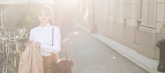 入秋了:酒紅劍橋包的演繹 & 感恩節令我感恩的幾件小事