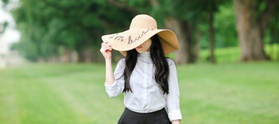 My Favorite Find this Summer: Floppy Straw Hat