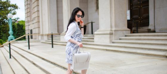 Travel Outfit | Summer Whites in Washington DC 夏日小清新旅行穿搭